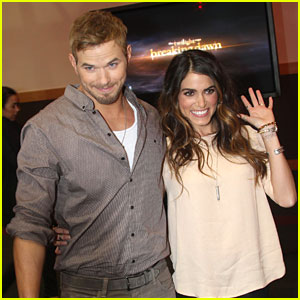 Nikki Reed & Kellan Lutz: 'Breaking Dawn' in Dublin!