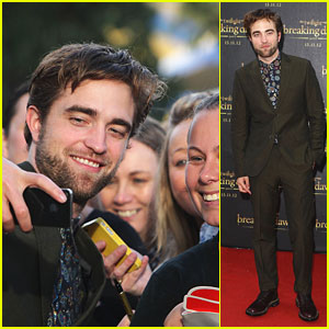 Robert Pattinson: 'Breaking Dawn' Fan Event in Sydney!