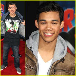 Roshon Fegan &#038; Adam Irigoyen: 'Wreck-It Ralph' Premiere
