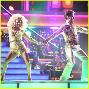 Sabrina Bryan & Louis van Amstel: Disco on 'Dancing With The Stars: All-Stars'