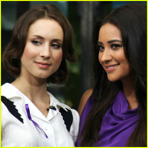Troian Bellisario & Shay Mitchell: 'Pretty Little' Interview