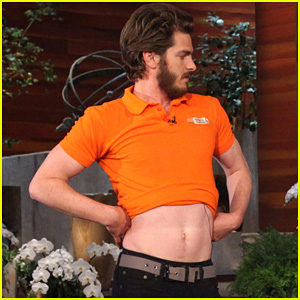 Andrew Garfield Dances for Charity on 'Ellen'!
