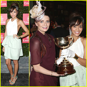 Ashley Madekwe: Melbourne Cup Attendee!