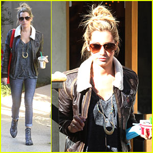 Ashley Tisdale: Free People Stop