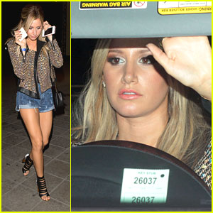 Ashley Tisdale: 'On The Road' After Party