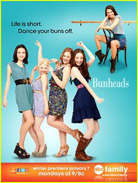 Emma Dumont & Kaitlyn Jenkins: New 'Bunheads' Poster!