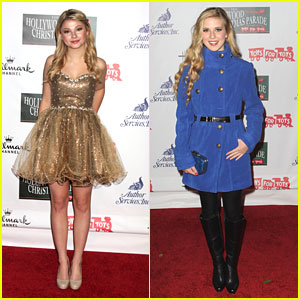 Caroline Sunshine & Stefanie Scott: Hollywood Christmas Parade 2012!