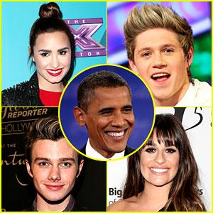 Celebs React to Barack Obama's Election Win!