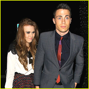 Colton Haynes & Holland Roden: Cecconi's Dinner Duo