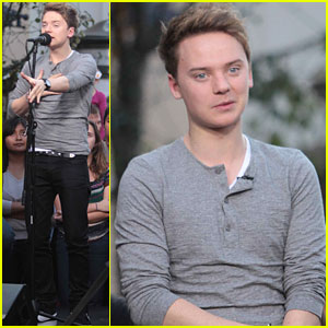 Conor Maynard: 'Extra' at The Grove!