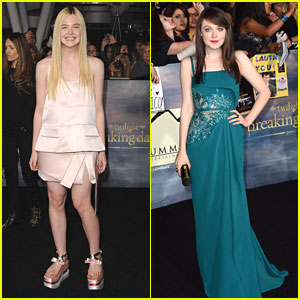 Dakota & Elle Fanning: 'The Twilight Saga: Breaking Dawn Part 2' Premiere
