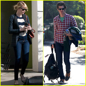 Emma Stone & Andrew Garfield: Los Angeles Errands