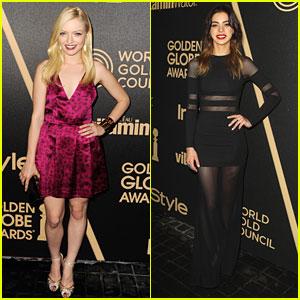 Gia Mantegna: Francesca Eastwood is Miss Golden Globe 2013!