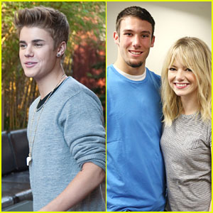 Emma Stone &#038; Justin Bieber Honor Halo Award Winners 2012