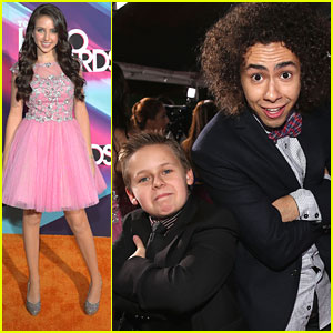 Ryan Newman: TeenNick Halo Award 2012 with Jackson Brundage
