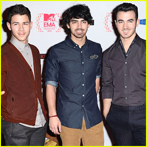 Jonas Brothers: MTV EMAs 2012