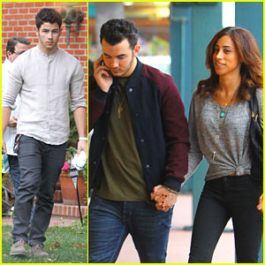 Kevin &#038; Danielle Jonas: Studio Stop with Nick &#038; Joe