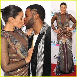 Jordin Sparks &#038; Jason Derulo: Kiss on AMAs 2012 Carpet