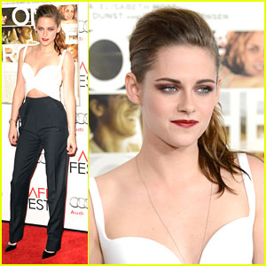 Kristen Stewart: 'On The Road' AFI Premiere!