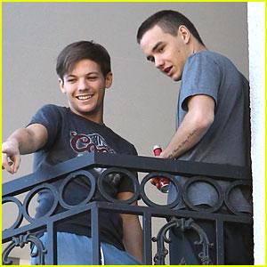 Louis Tomlinson & Liam Payne: Balcony Boys