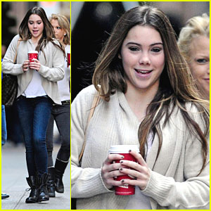 McKayla Maroney: Starbucks Stop