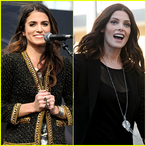 Nikki Reed & Ashley Greene: 'Twilight' Fan Camp Concert!