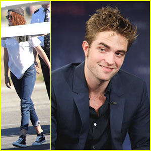 Kristen Stewart &#038; Robert Pattinson: Off To New York!