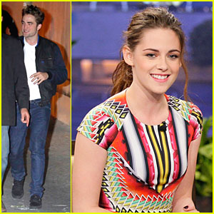 Robert Pattinson & Kristen Stewart: Talk Show Sweethearts