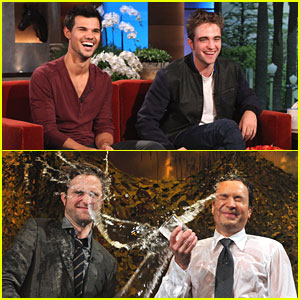 Robert Pattinson & Taylor Lautner: 'Ellen' Show TODAY!