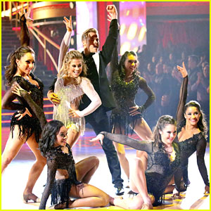 Shawn Johnson & Derek Hough: 'Dancing With The Stars: All-Stars' Freestyle!