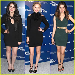 Vanessa & Laura Marano: A Night By The Ocean Gala with Meaghan Martin
