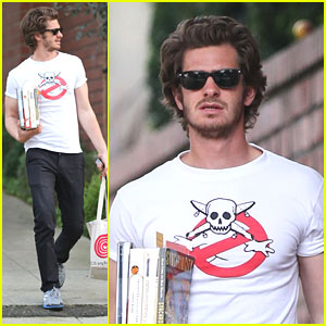 Andrew Garfield: 'Trickster' Reads at the Library