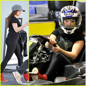Ariel Winter: Go Karting in Burbank