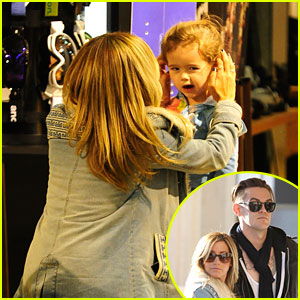 Ashley Tisdale: Burton Snowboard Stop with Ni