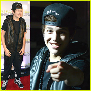 Austin Mahone: 93.3 FLZ Jingle Ball 2012 in Tampa