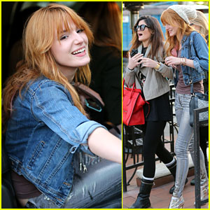 Bella Thorne: Lunch with Kylie Jenner!
