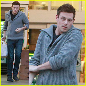 Cory Monteith: Bristol Farms Shopper
