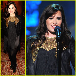 Demi Lovato: Christmas In Washington, D.C.!