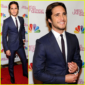 Diego Boneta - Miss Universe 2012 Judge