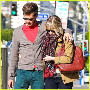 Emma Stone & Andrew Garfield: Lunch in Los Angeles