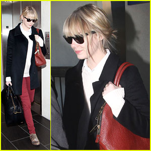 Emma Stone: Black, White & Red All Over