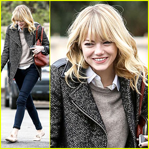 Emma Stone: Bubbly in Burbank