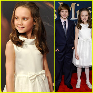 Isabelle Allen &#038; Daniel Huttlestone: 'Les Miserables' Premiere!