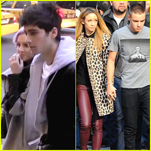 Zayn Malik & Liam Payne: Manhattan Shopping with Perrie Edwards & Danielle Peazer