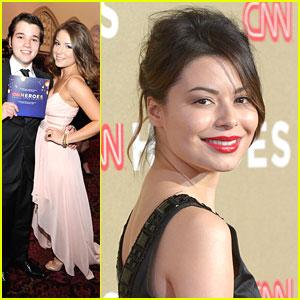 Nathan Kress & Madisen Hill: CNN Heroes with Miranda Cosgrove!