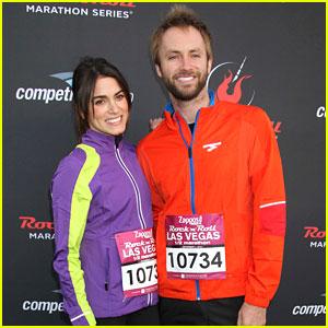 Nikki Reed & Paul McDonald: Rock 'N Roll Marathon in Vegas!