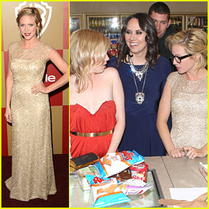 Brittany Snow: 7-Eleven Stop After Golden Globe Party