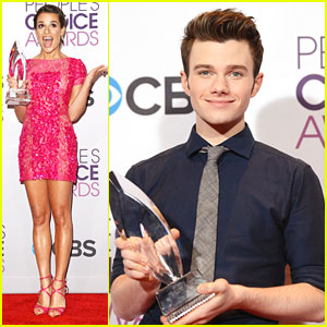 Chris Colfer & Lea Michele: People's Choice Awards 2013 Winners!