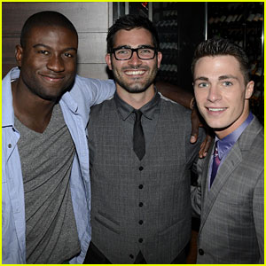 Colton Haynes: New Year's Eve With Tyler Hoechlin!