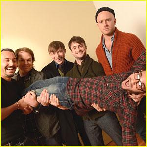 Daniel Radcliffe: Sundance Portraits with Dane DeHaan!